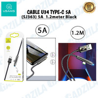 USAMS U34 KABEL GAMING TYPE-C ELBOW CHARGER CABLE USB C GAMER 5A