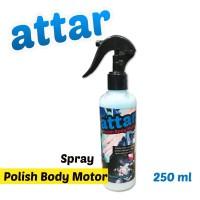 Pengkilap Body Motor SPRAY - Polish Khusus Motor