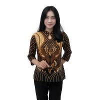 Batik Wanita Blouse Batik Atasan Batik Modern
