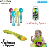 Tommee Tippee Feeding Spoons Sendok Makan Bayi Latihan Makan Sendiri