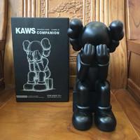 KAWS Passing Through Seated Companion Toy Statue Patung Original Fake