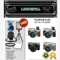 Fujifilm X-A5 Kit 15-45MM OIS PZ Paket 32GB-Mirrorless Fuji XA5
