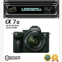 Sony Alpha A7 lll Kit FE 28-70mm f/3.5-5.6 Oss