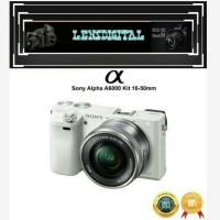 Sony Alpha A6000 Kit 16-50MM Original -Kamera Mirrorless Sony A6000