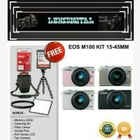 Canon Eos M100 Kit 15-45MM Paket 32GB-Kamera mirrorless Ori
