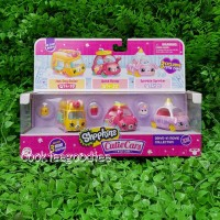 Shopkins Cutie Cars Drive in Movie Collection
