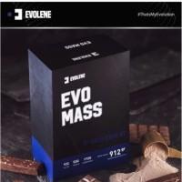 Evolene EvoMass 2 Lbs 912 Gram Evo Mass Gainer 10Lbs 4,5kg SUDAH BPOM