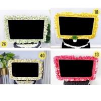 Bando TV Shabby Chic tv 20-32 inch cover tv untuk LED / LCD / MONITOR