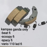 kampas ganda beat fi scoopy fi spacy fi vario 110 led fi