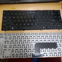 Keyboad Laptop AXIO W540 RNO RNE Frame hitam