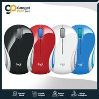 Mouse Wireless Logitech M187 Plus USB Adapter - Original Garansi 3th - Hitam