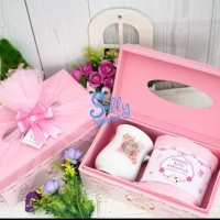 Souvenir bab one month.Hampers baby gift