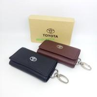 Dompet/gantungan Kunci ,Stnk mobil n motor Toyota kulit.