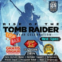 RISE OF THE TOMB RAIDER 20 Years Celebration/TR ROTTR (CD DVD GAME PC)