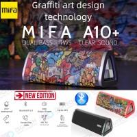 Mifa A10 PLUS Speaker Bluetooth Portable 20W IPX7 waterproof TWS A10+ - Hitam
