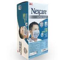 3M Nexcare Masker Carbon 4 ply Mask 1 box isi 24 pcs MURAH