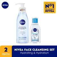 NIVEA Hydrating Cleansing Oil 150ml + Micellair Hydration Skin 125ml