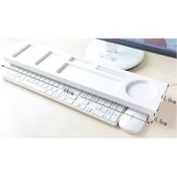 Rak Keyboard Desktop Storage Organizer Meja Mini Laptop Komputer