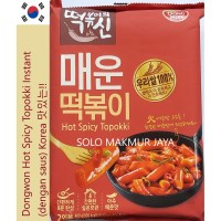 Dongwon Hot Spicy Topokki Tteokbokki Tokpoki Instan
