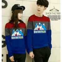 BAJU COUPLE LP DORAEMON