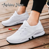 Sepatu Pria Sneakers Import Sporty dan Kasual Slip On 7789 - Putih, 41