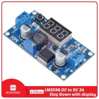 LM2596 DC to DC Step Down 3A with LED Display module