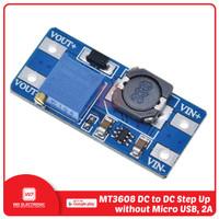 MT3608 Step Up Adjustable DC to DC Modul - Tanpa MicroUSB