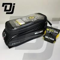 Wild Man Top Tube Frame Bag Tas Sepeda Roadbike MTB plus Holder HP