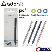 Adonit Pro 3 Fine Point Stylus for Android iOS iPad iPhone - ADN-ADP3