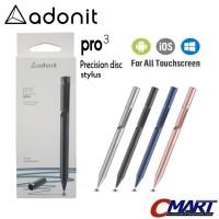 Adonit Pro 3 Fine Point Stylus for Android iOS iPad iPhone - ADN-ADP3 - Biru