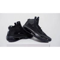 sepatu basket nike air jordan 34 black cat grade original