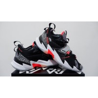 sepatu basket air jordan why not zero 3 black cement grade original