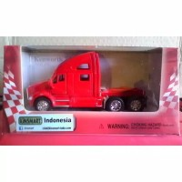 Diecast kinsmart mobil truk KENWORTH truck metal besi mainan anak