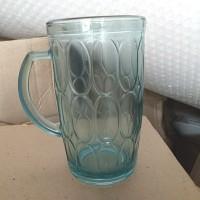 gelas beling / gelas kaca / gelas gagang