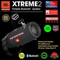 JBL Xtreme 2 / Xtreme2 Waterproof Portable Bluetooth Speaker Original - Hitam