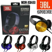 Earphone Headset Headphone Bando JBL MDR XB450