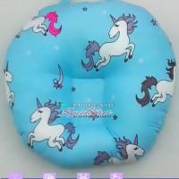 sofa Bayi motif kuda pony hijau