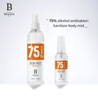 PAKET Disinfectant Hand Spray Antisepik Alkohol desinfektan 60ml+235ml