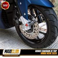 Kunci Cakram Disc Lock Gembok Anti Maling ZE TOP Yamaha NMAX NEW 2020