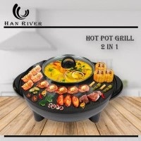 Hanriver - Shabu Shabu & BBQ Bulat HRSKG01BK