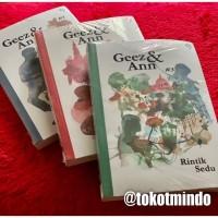 Paket 3 buku : Geez & Ann #1, Geez & Ann #2, Geez & Ann #3