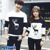 Baju Couple LP Rusa Kombinasi