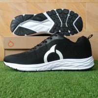 Ortuseight Vector (Sepatu Running Casual) - BlackWhite