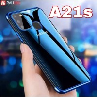 Case Samsung A21s Plating Croum