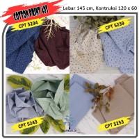 MUKA IG bahan kain cotton katun kemeja murah per 50 yard cat 16