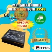 PART BATERAI ORIGINAL MINI PRINTER BLUETOOTH EPX58B-MURAH DAN BARU