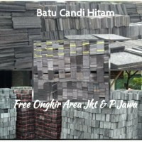 Batu alam Batu Candi hitam, Free Ongkir Jkt dan P. Jawa
