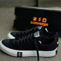 ONE COLLECTION - SEPATU CONVERSE PETIR UNDEFEATED GRADE ORI HITAM - Hitam, 47