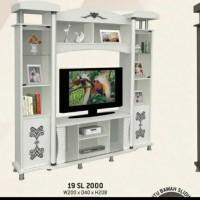 Buffet tv promo pabrik uk.200x40x208cm pilihan 2 warna. sesuai gambar.
