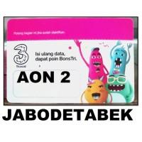 VOUCHER PAKET DATA INTERNET TRI AON 2 GB JABODETABEK ( VC THREE 2GB )